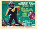 Movie Posters:Science Fiction, Forbidden Planet (MGM, 1956). Fine/Very Fine on Paper....
