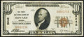 National Bank Notes:Kansas, Howard, KS - $10 1929 Ty. 1 The First NB Ch. # 3242 Very Fine.. ...