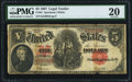 Large Size:Legal Tender Notes, Fr. 91 $5 1907 Legal Tender PMG Very Fine 20.. ...