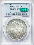 1878 7TF $1 Reverse of 1878 MS65 Prooflike PCGS. CAC. PCGS Population: (45/11). NGC Census: (24/4). CDN: $1,540 Whsle. B...