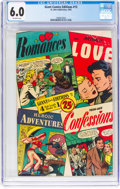 Golden Age (1938-1955):Romance, Giant Comics Edition #13 (St. John, 1950) CGC FN 6.0 Off-white pages....