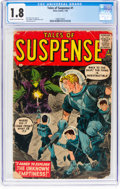 Silver Age (1956-1969):Science Fiction, Tales of Suspense #1 (Marvel, 1959) CGC GD- 1.8 Cream to off-whitepages....