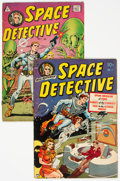Golden Age (1938-1955):Science Fiction, Space Detective #1 Group of 2 (Avon/I. W. Enterprises, 1951-58) Condition: VG/FN.... (Total: 2 Comic Books)