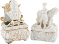 """Political:3D & Other Display (pre-1896), Ulysses S. Grant: Pair of Staffordshire """"Fairings"""".... (Total: 2 Items)"""