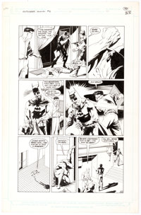 Kevin Nowlan The Outsiders Annual #1 Story Page 33 Original Art (DC, 1986)