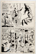 Original Comic Art:Panel Pages, Gene Colan and John Tartaglione Daredevil #32 Story Page 4 Original Art (Marvel, 1967)....
