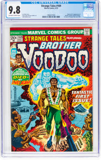 Strange Tales #169 (Marvel, 1973) CGC NM/MT 9.8 Off-white to white pages