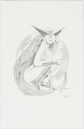 Original Comic Art:Splash Pages, Greg Land - Hawkwoman Pin-Up Illustration Original Art (2003)....