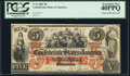 T31 $5 1861 PF-1 Cr. 243 PCGS Extremely Fine 40PPQ