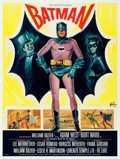 Movie Posters:Action, Batman (20th Century Fox, 1966). Very Fine+ on Linen.