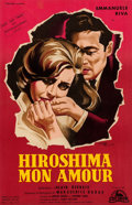Movie Posters:Foreign, Hiroshima, Mon Amour (Cocinor, 1959). Very Fine- on Linen....