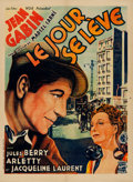 "Movie Posters:Crime, Le Jour Se Leve (Les Films Vog, 1935). Very Fine on Linen. French Moyenne (23"" X 31.5"").. ..."
