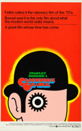 Movie Posters:Science Fiction, A Clockwork Orange (Warner Brothers, 1973). Rolled, Very F...