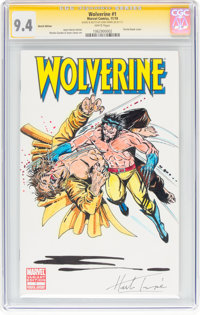 Renato Guedes and Jason Latour Wolverine #1 Sketch Variant Cover with Original Art - CGC Signature Series (Marvel