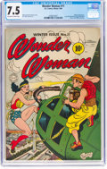 Golden Age (1938-1955):Superhero, Wonder Woman #11 (DC, 1944) CGC VF- 7.5 Off-white to white pages....