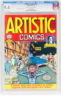 Artistic Comics #nn (Golden Gate, 1973) CGC NM 9.4 Off-white to white pages