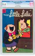 Golden Age (1938-1955):Humor, Marge's Little Lulu #82 File Copy (Dell, 1955) CGC NM 9.4 Off-white to white pages....