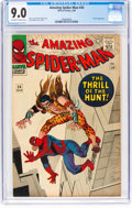 Silver Age (1956-1969):Superhero, The Amazing Spider-Man #34 (Marvel, 1966) CGC VF/NM 9.0 Off-whiteto white pages....