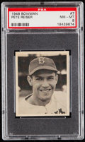 Baseball Cards:Singles (1940-1949), 1948 Bowman Pete Reiser #7 PSA NM-MT 8....
