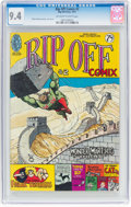 Bronze Age (1970-1979):Alternative/Underground, Rip Off Comix #2 (Rip Off Press, 1977) CGC NM 9.4 Off-white to white pages....