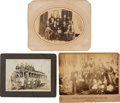 Political:Small Paper (1896-present), Labor History and Woman's Suffrage: Mounted Group Shot Photographs....