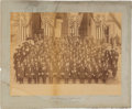 Political:3D & Other Display (pre-1896), Benjamin Harrison: 1889 Inauguration Mounted Albumen....