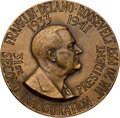 Political:Inaugural (1789-present), Franklin D. Roosevelt: 1937 Official Inaugural Medal....