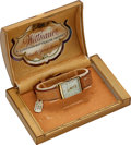 Timepieces:Wristwatch, Wittnauer, New-Old-Stock, 10K Yellow Gold Filled, Manual Wind,Circa 1940s. ...