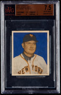 Baseball Cards:Singles (1950-1959), 1949 Bowman Johnny Mize (No Name On Front) #85 BVG NM+ 7.5....