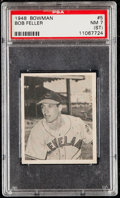 Baseball Cards:Singles (1940-1949), 1948 Bowman Bob Feller #5 PSA NM 7 (ST)....