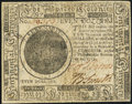 Continental Currency November 29, 1775 $7 Very Fine
