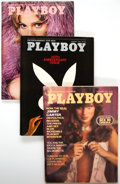 Magazines:Miscellaneous, Playboy Complete Years 1974-76 Group of 36 (HMS,1974-76) Condition: Average VF+. ...