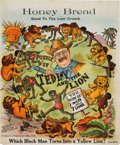 Political:Small Paper (1896-present), Theodore Roosevelt: Safari-Themed Mechanical Puzzle. ...