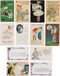 Political:Small Paper (1896-present), Woman's Suffrage: Assorted Postcards....