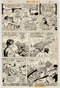 Original Comic Art:Panel Pages, Bob Brown, Mike Esposito, and Frank Giacoia Fantastic Four #154 Story Page 19 Original Art (Marvel, 1975)....