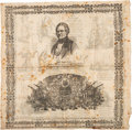 Political:Textile Display (pre-1896), Winfield Scott: Pictorial Campaign Handkerchief....
