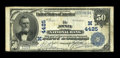 National Bank Notes:Missouri, Joplin, MO - $50 1902 Date Back Fr. 670 The Joplin NB Ch. #(M)4425. ...