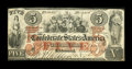 Confederate Notes:1861 Issues, T31 $5 1861 PF-2.. ...