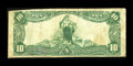 National Bank Notes:West Virginia, Oak Hill, WV - $10 1902 Plain Back Fr. 634 The Oak Hill NB Ch. #12075. ...