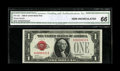 Small Size:Legal Tender Notes, Fr. 1500 $1 1928 Legal Tender Note. CGA Gem Uncirculated 66.. ...