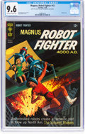 Silver Age (1956-1969):Science Fiction, Magnus Robot Fighter #12 (Gold Key, 1965) CGC NM+ 9.6 Off-white to white pages....
