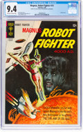 Silver Age (1956-1969):Science Fiction, Magnus Robot Fighter #13 (Gold Key, 1966) CGC NM 9.4 Off-white to white pages....