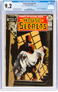 Bronze Age (1970-1979):Horror, House of Secrets #94 (DC, 1971) CGC NM- 9.2 White pages....
