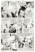 Original Comic Art:Panel Pages, Jim Aparo The Brave and the Bold #170 Story Page 12 Original Art (DC, 1981)....