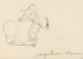 Animation Art:Production Drawing, Mysterious Mose Early Betty Boop Ani...