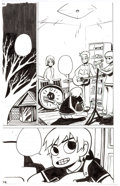 Original Comic Art:Panel Pages, Bryan Lee O'Malley Scott Pilgrim #2 Story Page 52 Original Art (Oni Press, 2005)....