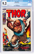 Silver Age (1956-1969):Superhero, Thor #159 (Marvel, 1968) CGC NM- 9.2 Off-white to white pages....