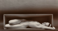 Ruth Bernhard (American, 1905-2006) In the Box-Horizontal, San Francisco, California, 1962 Gelatin s