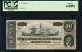 Confederate Notes:1864 Issues, T67 $20 1864 PF-14 Cr. 514 PCGS Gem New 66PPQ.. ...