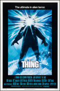 Movie Posters:Horror, The Thing (Universal, 1982). Rolled, Very Fine+. O...